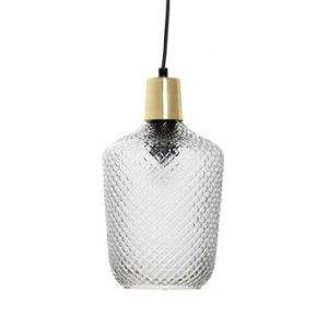 hanglamp bloomingville glas messing brons
