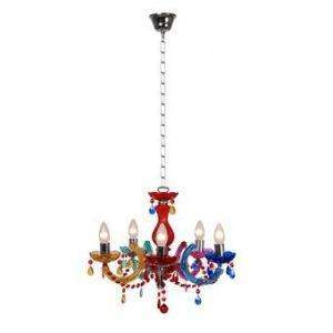 hanglamp lucide acryl multicolor