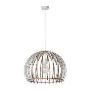 hanglamp lucide hout wit