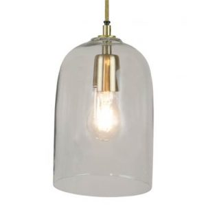 hanglamp home delight glas transparant
