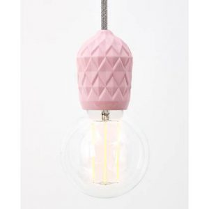 hanglamp hommage department porselein roze